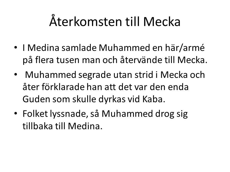 Återkomsten till Mecka