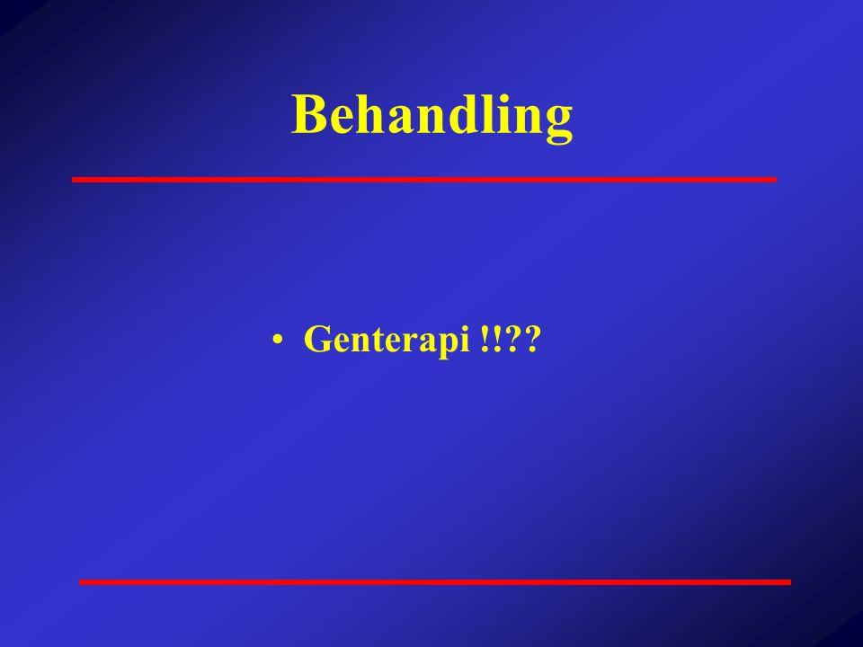Behandling Genterapi !!