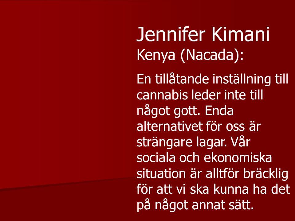 Jennifer Kimani Kenya (Nacada):