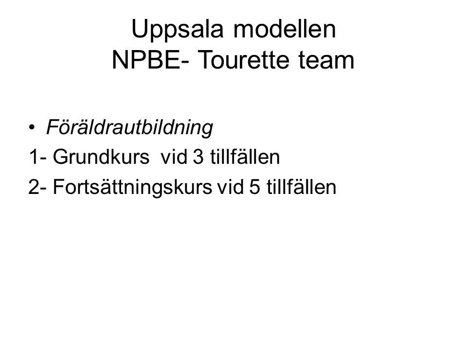 Uppsala modellen NPBE- Tourette team