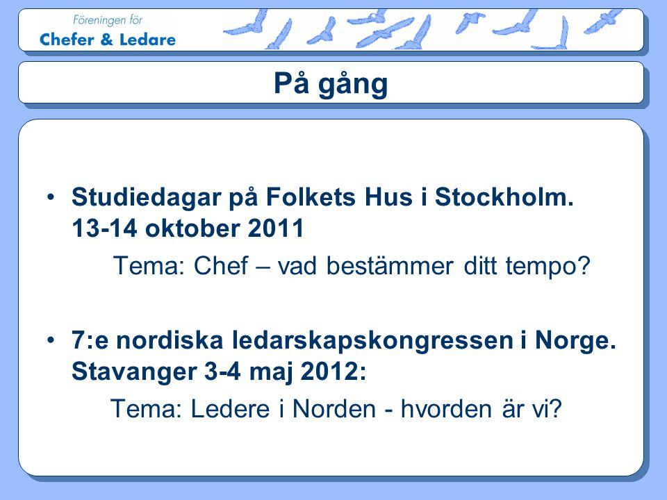 Tema: Ledere i Norden - hvorden är vi
