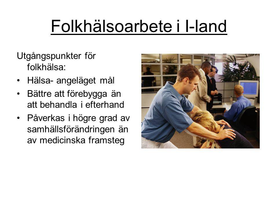 Folkhälsoarbete i I-land