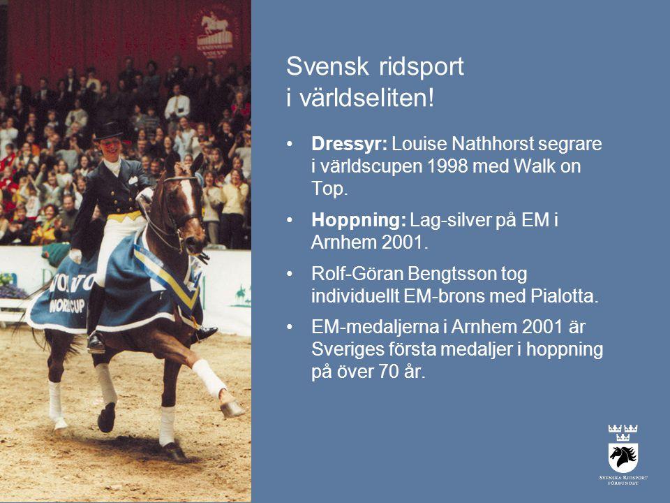 Svensk ridsport i världseliten!