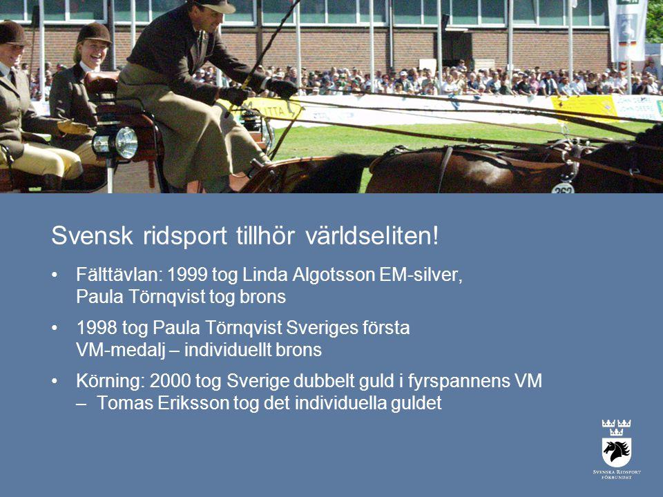 Svensk ridsport tillhör världseliten!