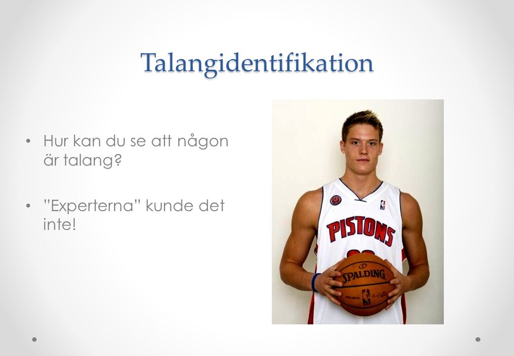 Talangidentifikation