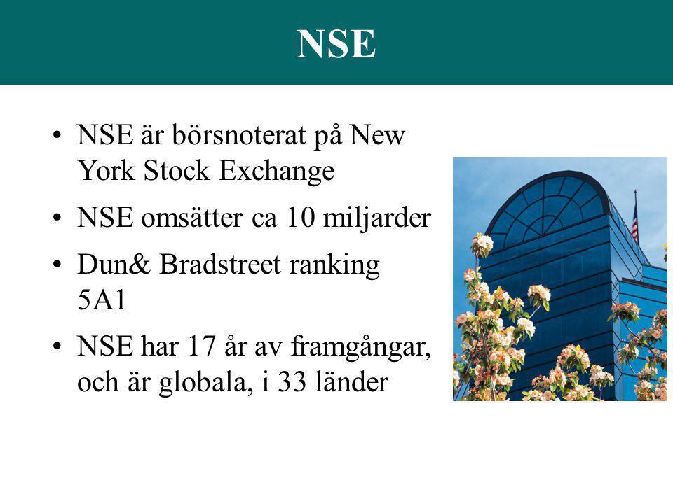 NSE NSE är börsnoterat på New York Stock Exchange