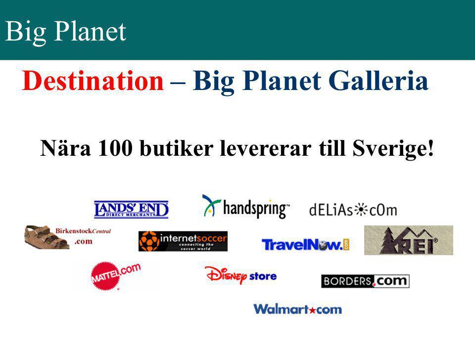 Destination – Big Planet Galleria