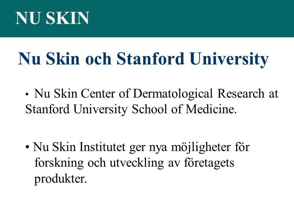Nu Skin och Stanford University
