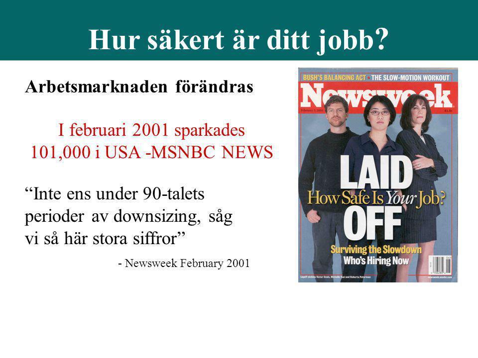 Arbetsmarknaden förändras