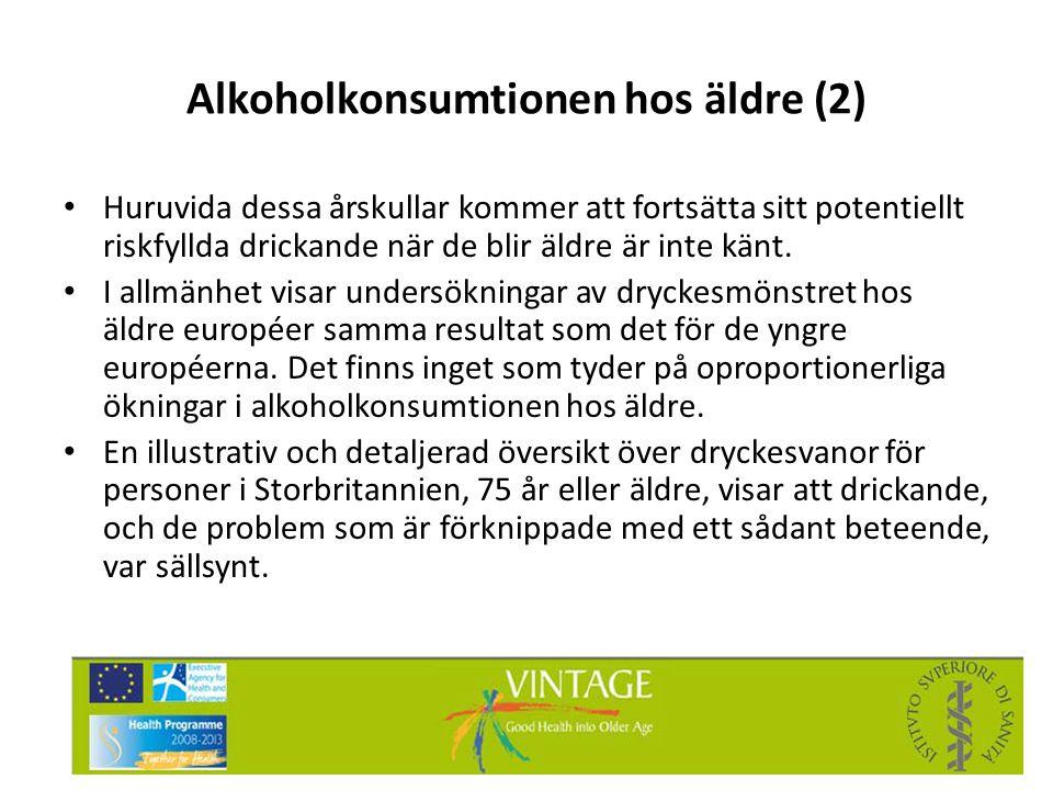 Alkoholkonsumtionen hos äldre (2)