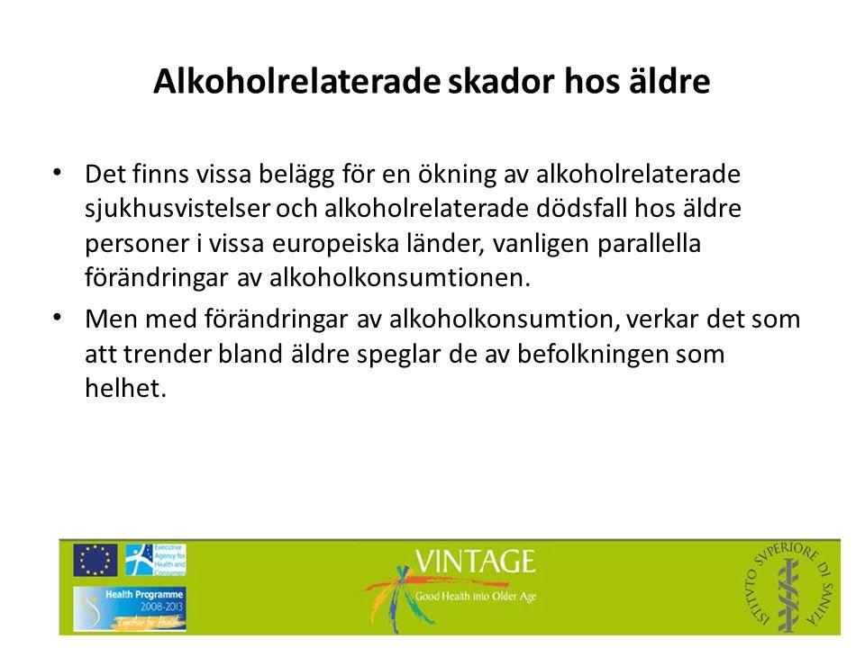 Alkoholrelaterade skador hos äldre