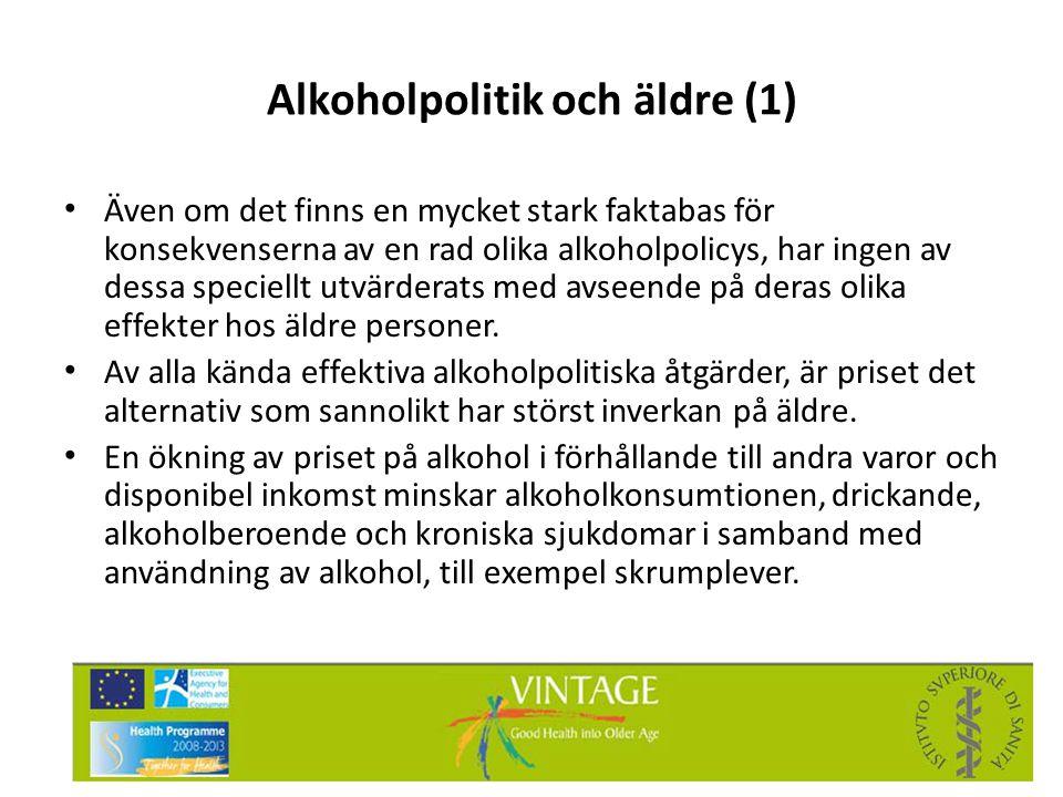 Alkoholpolitik och äldre (1)