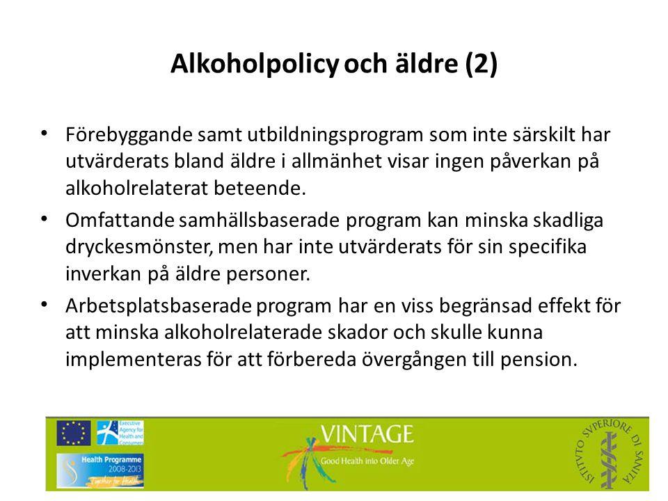 Alkoholpolicy och äldre (2)