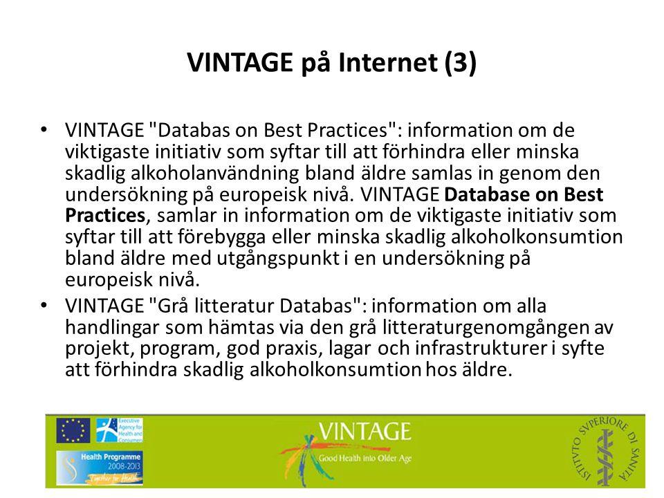 VINTAGE på Internet (3)