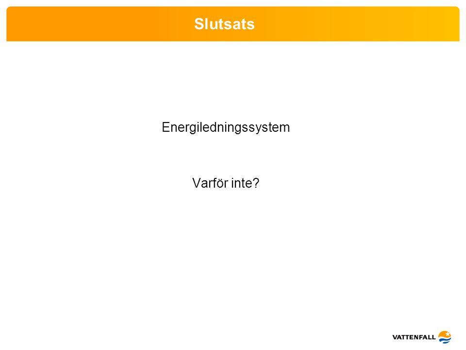 Energiledningssystem