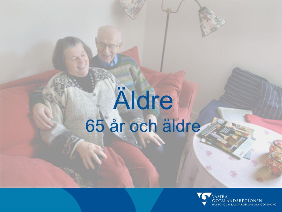 Äldre 65 år och äldre
