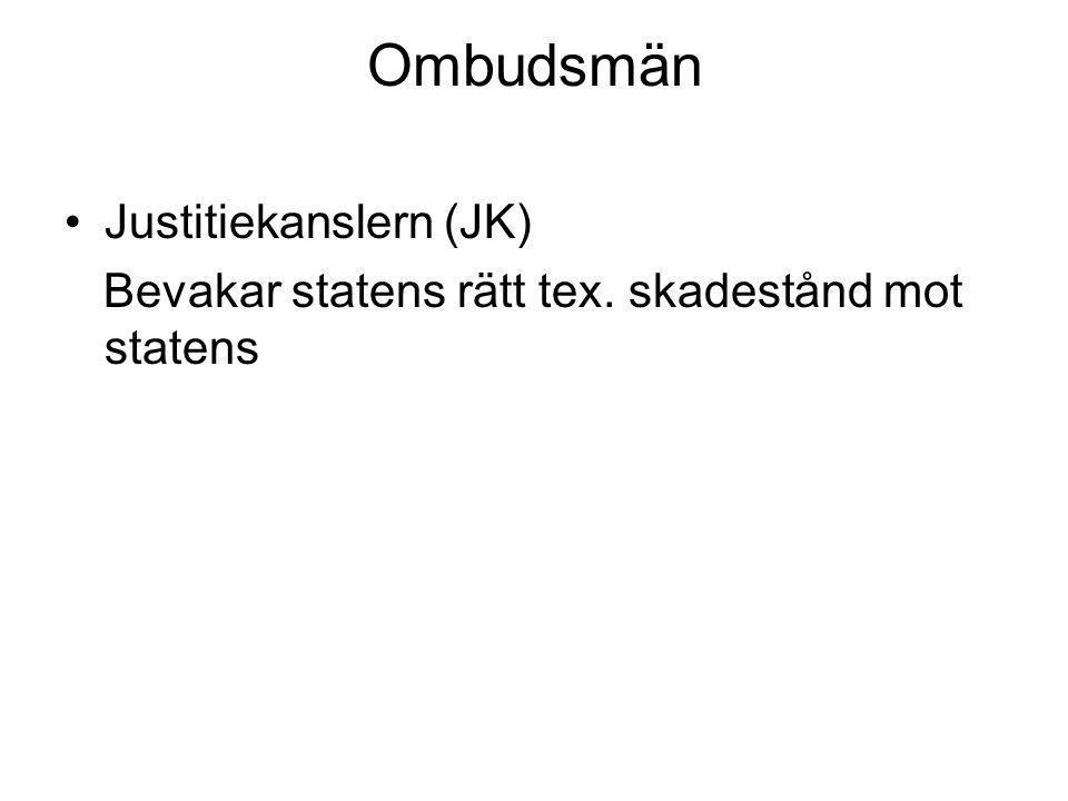 Ombudsmän Justitiekanslern (JK)