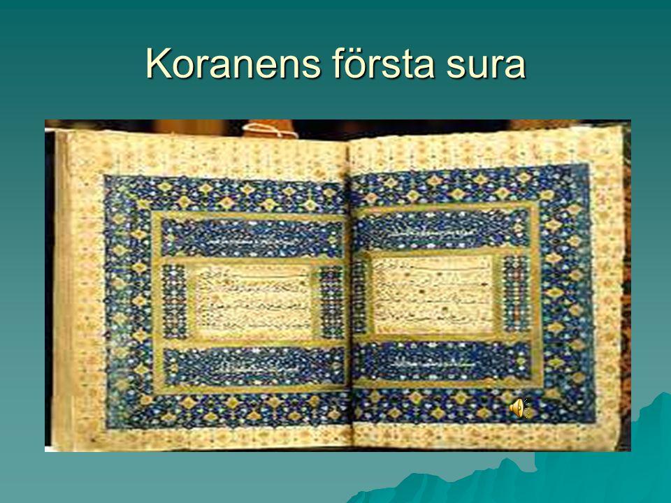 Koranens första sura