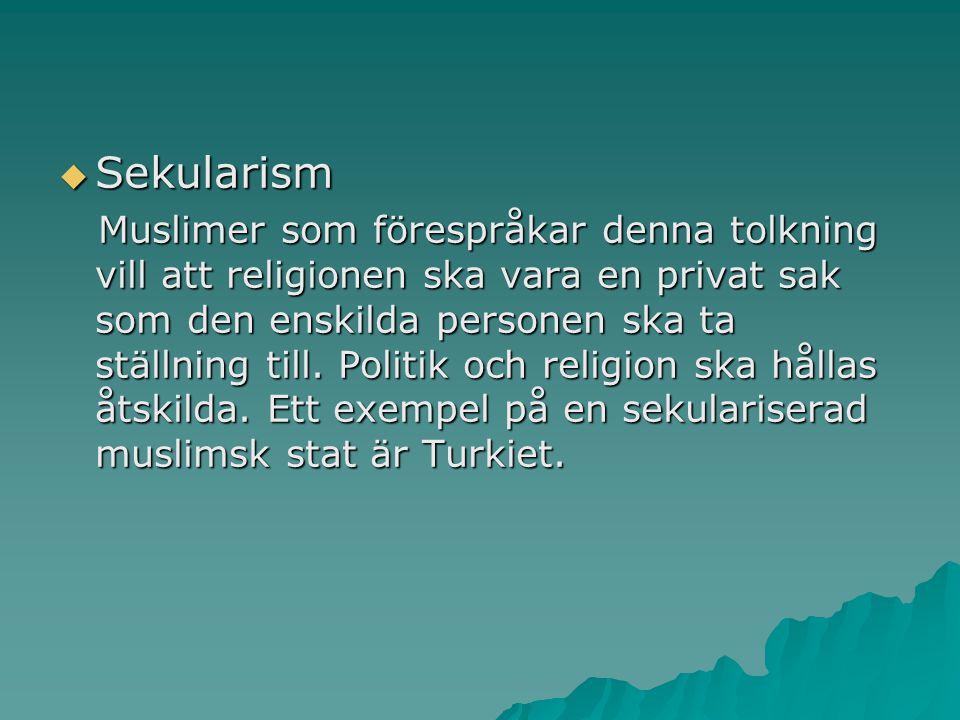 Sekularism