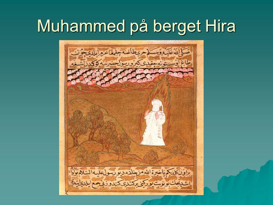 Muhammed på berget Hira