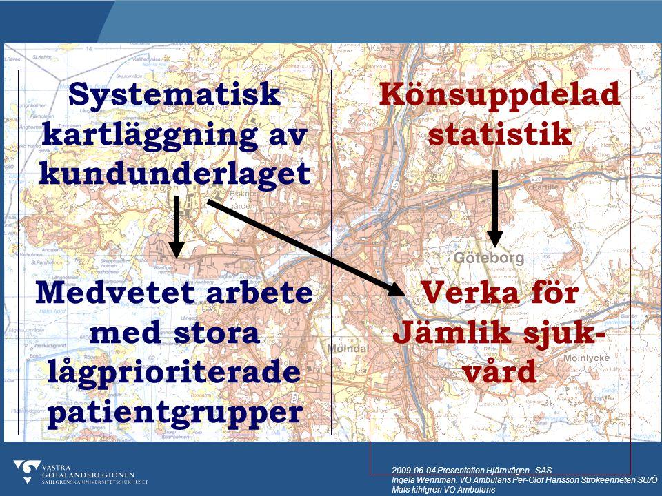 Systematisk kartläggning av kundunderlaget