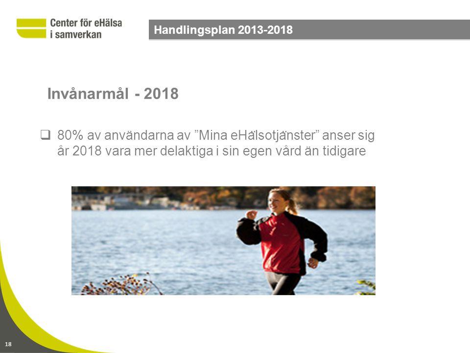 Handlingsplan 2013-2018 Invånarmål - 2018.