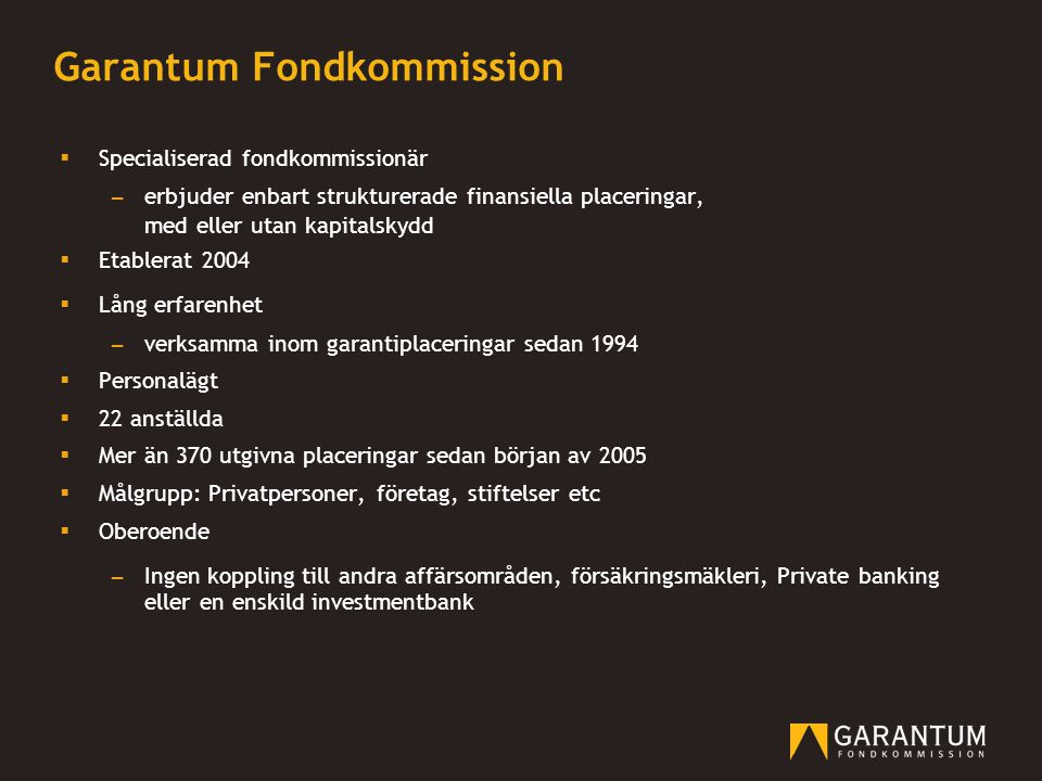 Garantum Fondkommission