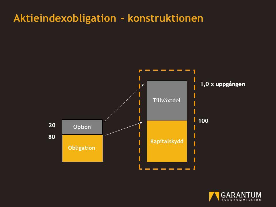 Aktieindexobligation - konstruktionen
