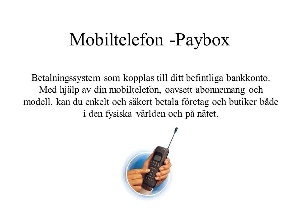 Mobiltelefon -Paybox