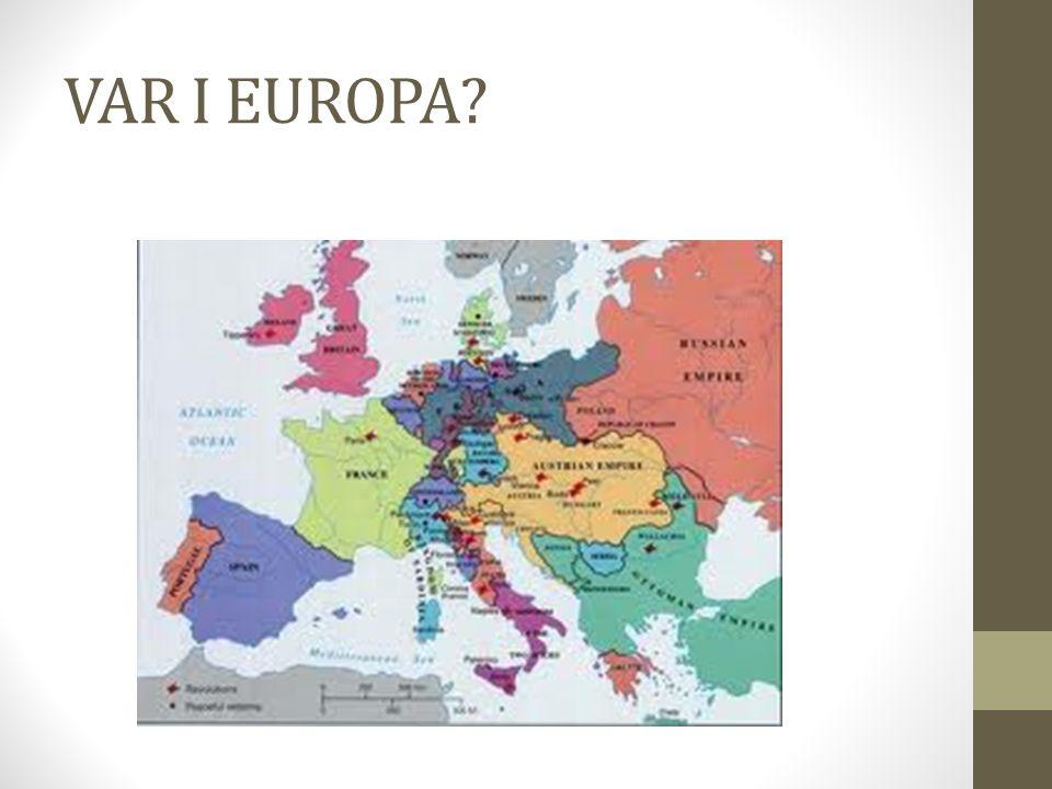 VAR I EUROPA