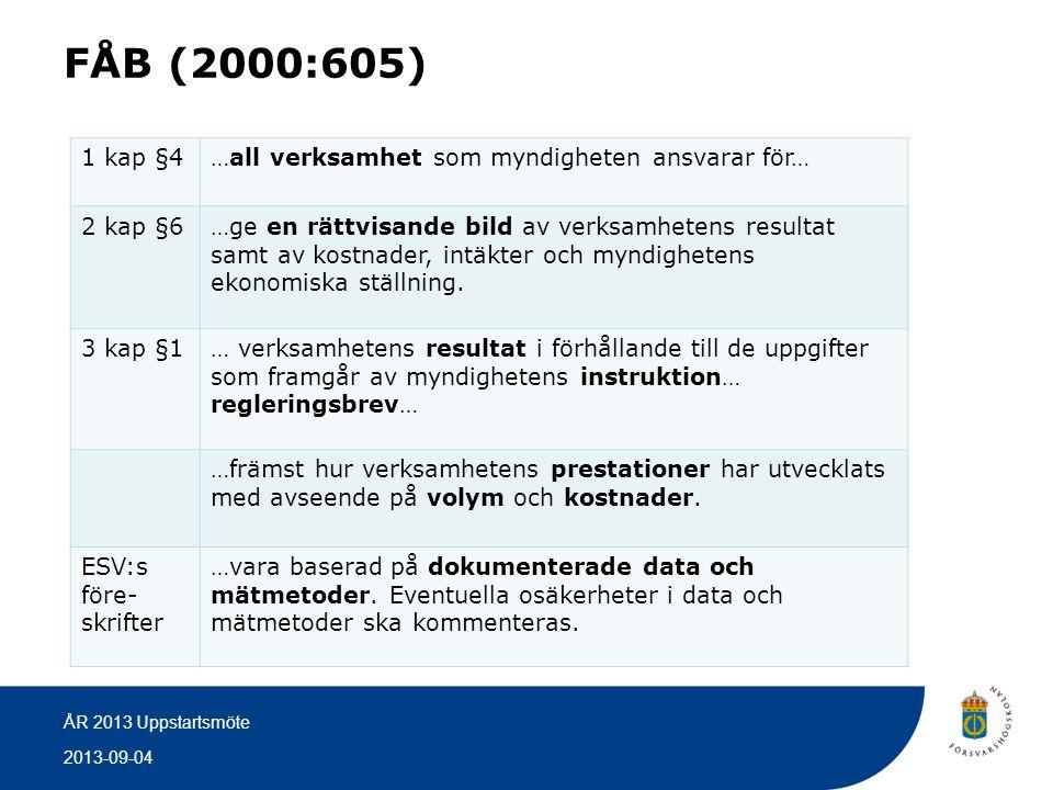 FÅB (2000:605) 1 kap §4 …all verksamhet som myndigheten ansvarar för…