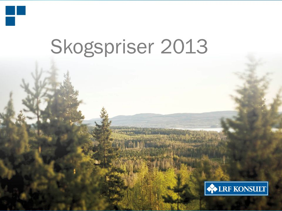Skogspriser 2013