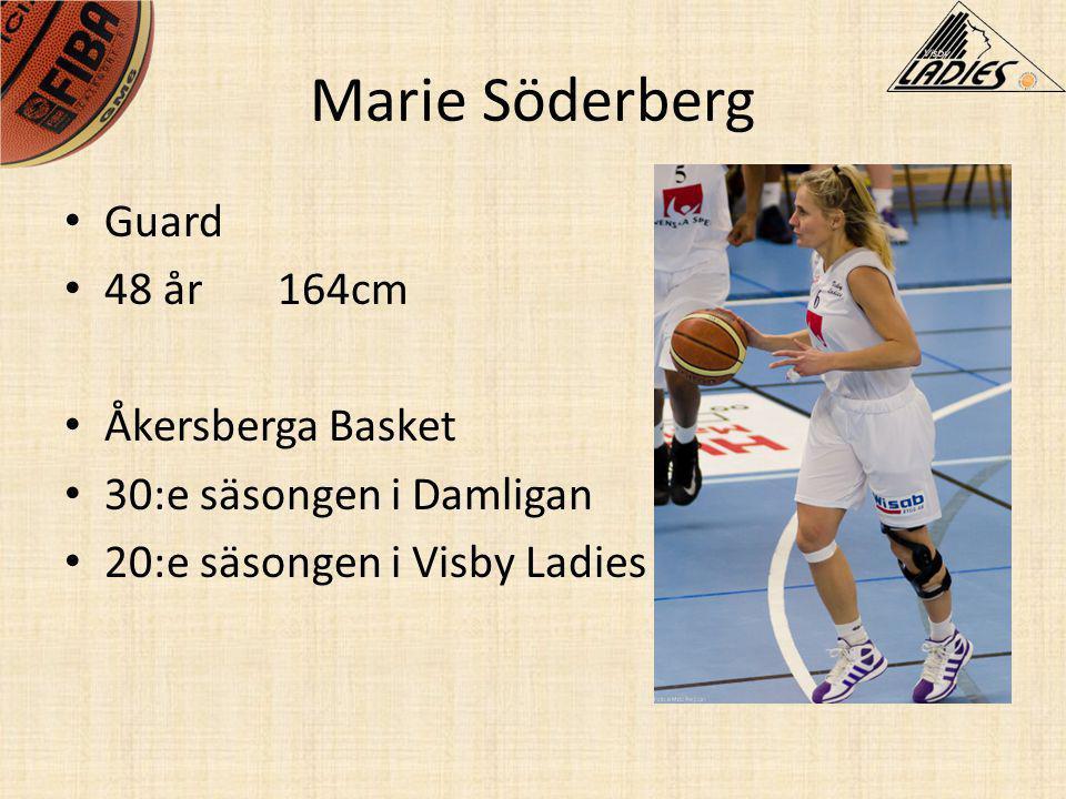 Marie Söderberg Guard 48 år 164cm Åkersberga Basket