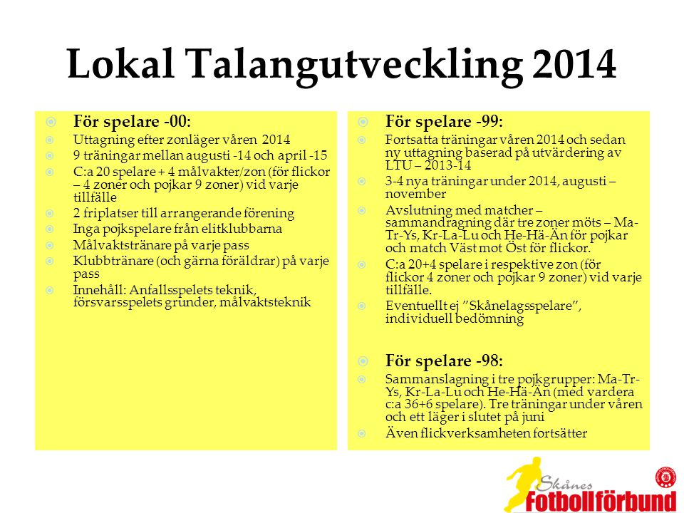 Lokal Talangutveckling 2014