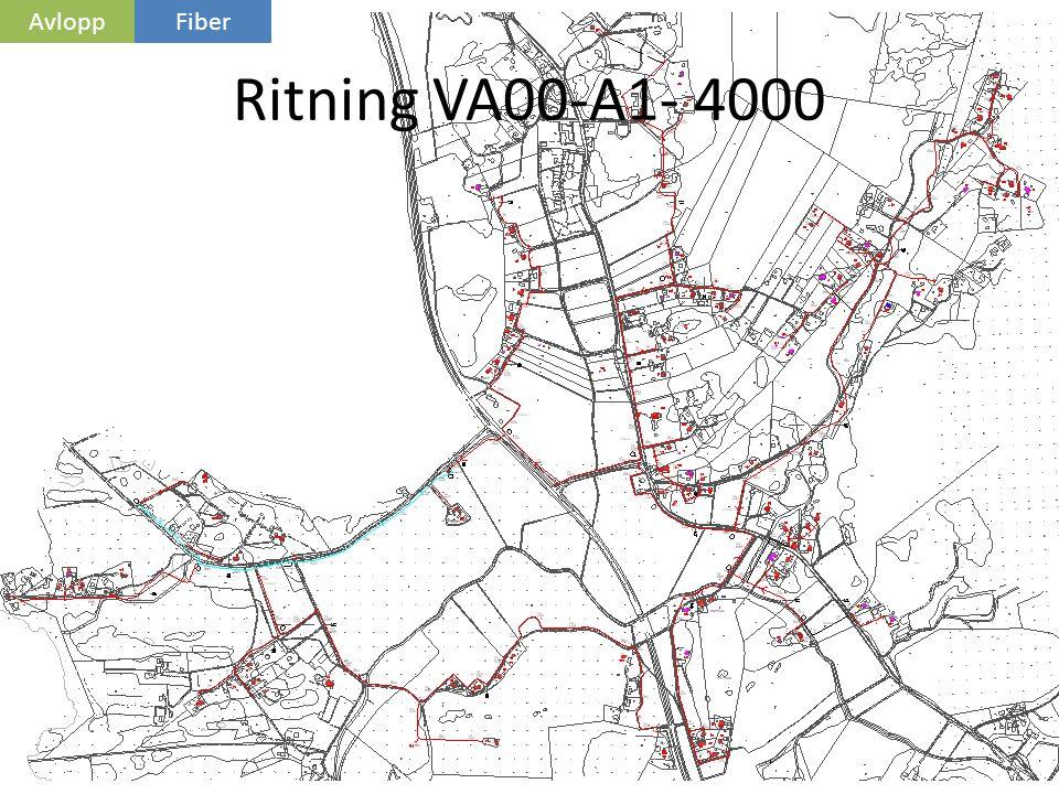 Avlopp Fiber Ritning VA00-A1- 4000 Ritning VA00-A1- 4000