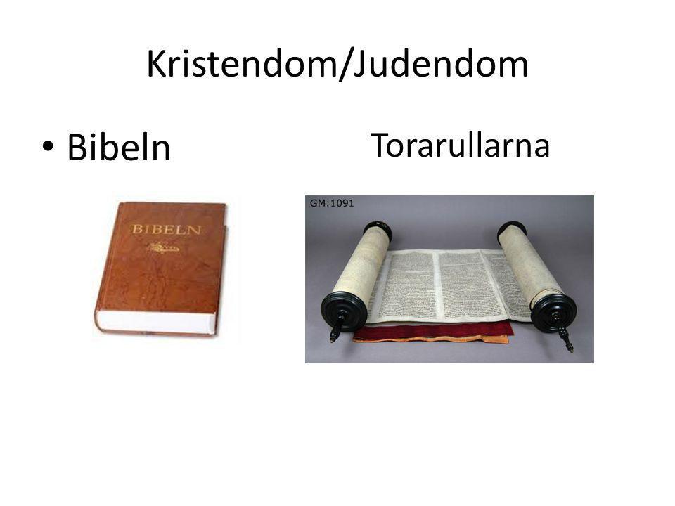 Kristendom/Judendom Bibeln Torarullarna