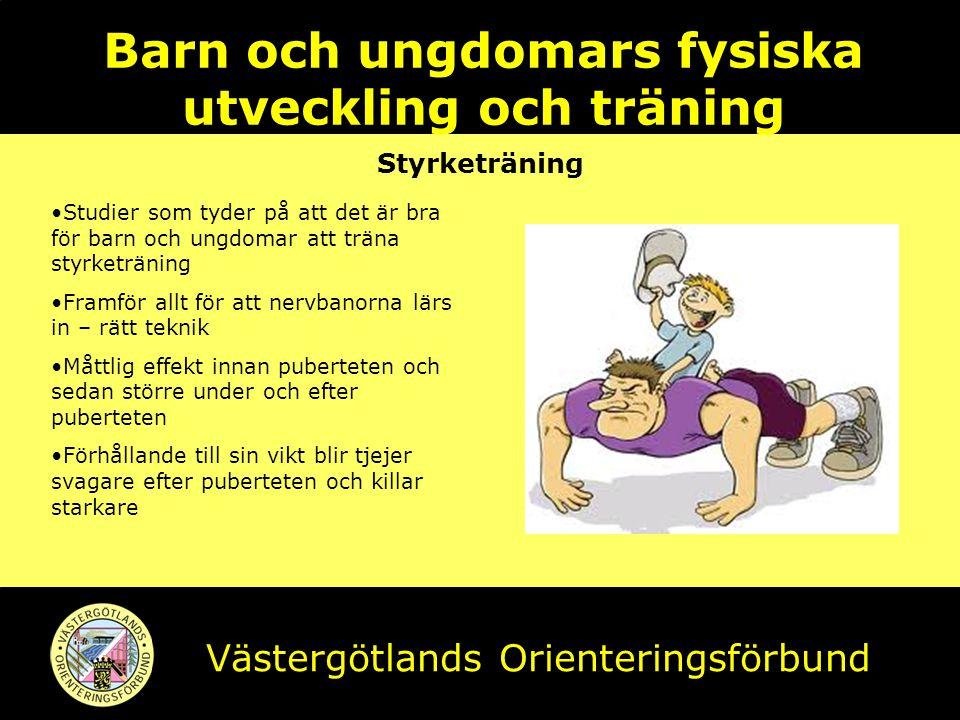 Barn och ungdomars fysiska utveckling och träning