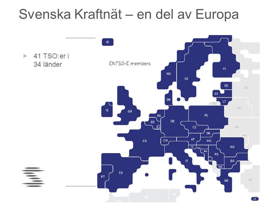 Svenska Kraftnät – en del av Europa