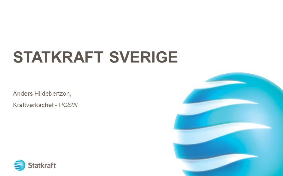 Anders Hildebertzon, Kraftverkschef - PGSW