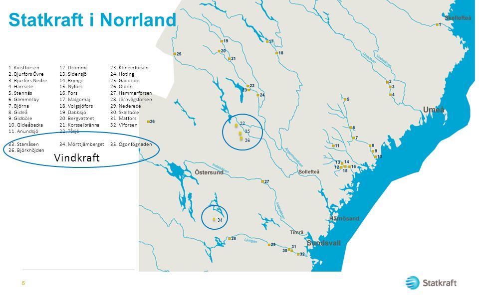 Statkraft i Norrland Vindkraft