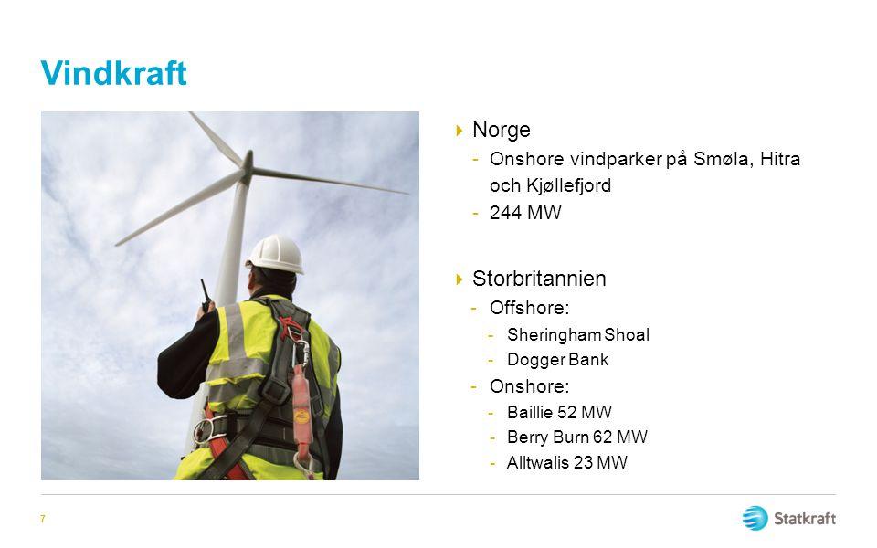 Vindkraft Norge Storbritannien