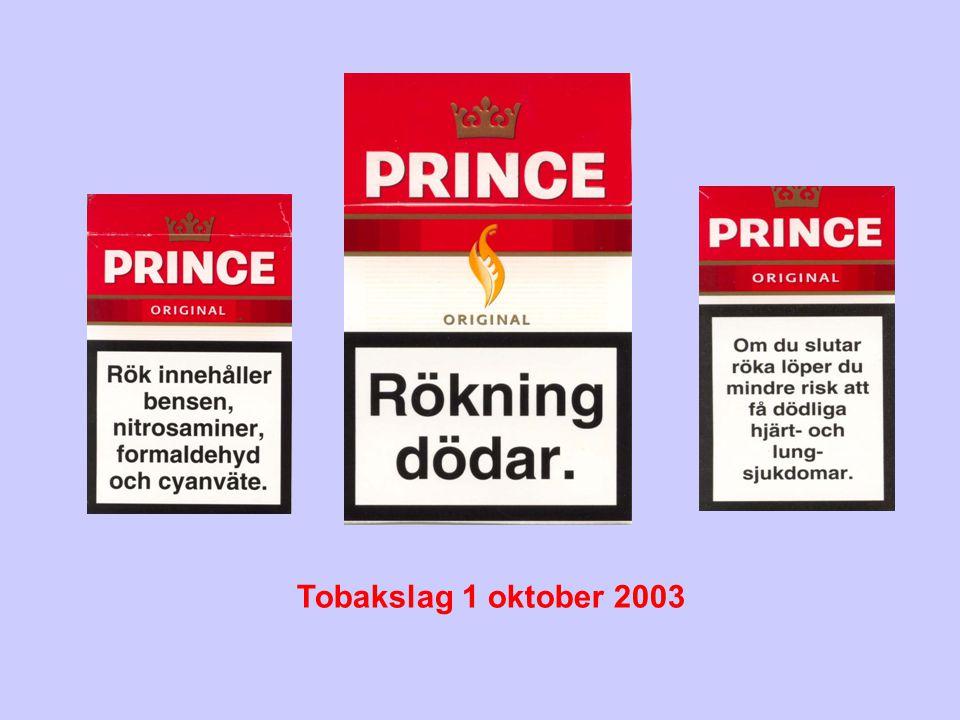 Tobakslag 1 oktober 2003