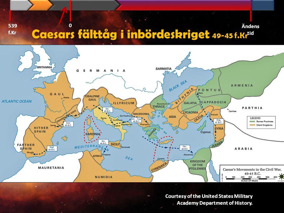 Caesars fälttåg i inbördeskriget 49-45 f.Kr