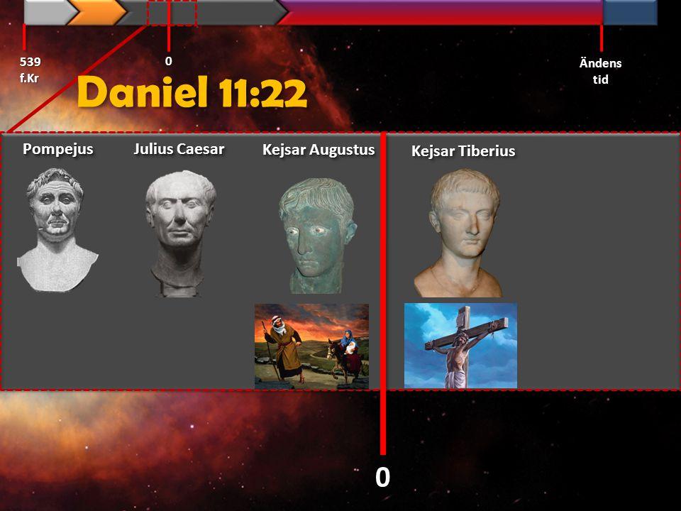 Daniel 11:22 Pompejus Julius Caesar Kejsar Augustus Kejsar Tiberius