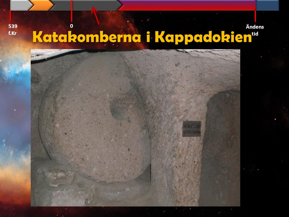Katakomberna i Kappadokien
