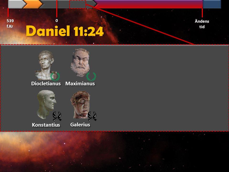 Daniel 11:24 Diocletianus Maximianus Konstantius Galerius 539 f.Kr