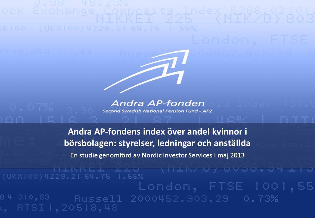 En studie genomförd av Nordic Investor Services i maj 2013
