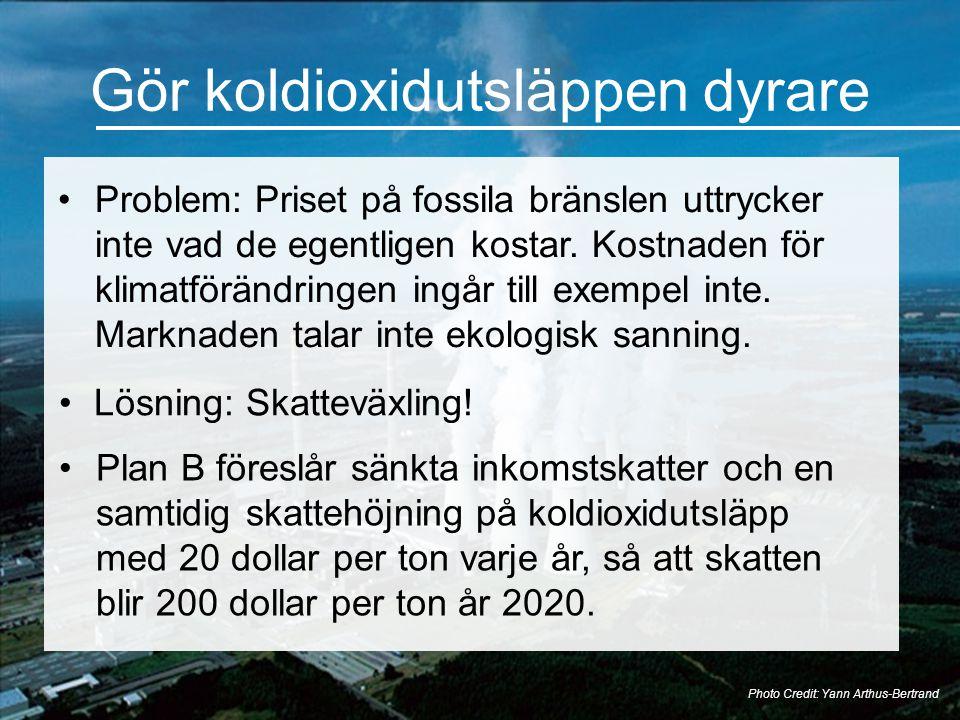 Gör koldioxidutsläppen dyrare