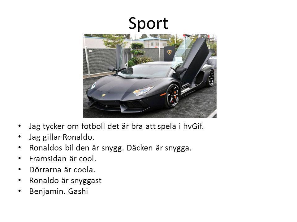 Sport Jag tycker om fotboll det är bra att spela i hvGif.