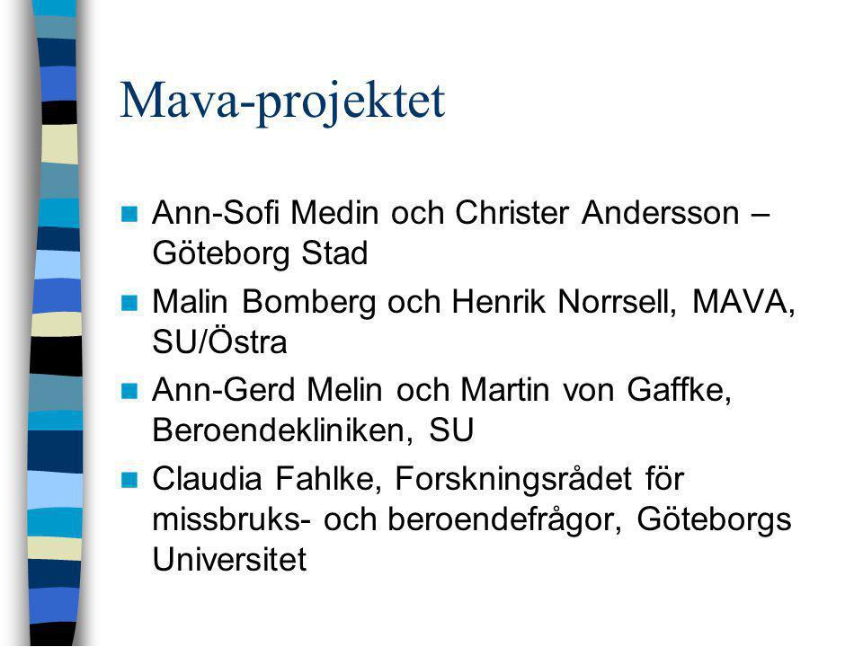 Mava-projektet Ann-Sofi Medin och Christer Andersson – Göteborg Stad